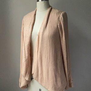 Joie Blush matte sequin jacket blazer